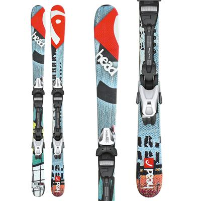 Head Souphead LR Skis + LRX 7.5 AC Bindings - Youth 2013