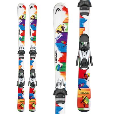 Head PEZ Team Skis + SX 4.5 AC Bindings - Youth 2013