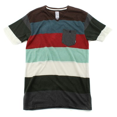 Billabong Border V Neck T Shirt