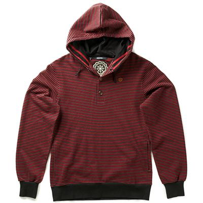 Makia Henley Pullover Hoodie