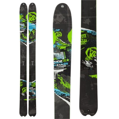 K2 SideStash Skis 2013