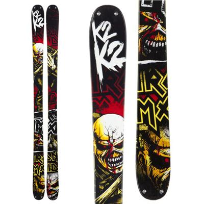K2 Iron Maiden Skis 2013