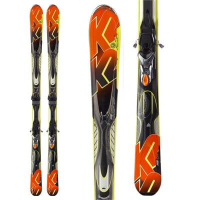 K2 A.M.P. Impact Skis + Marker MX 11.0 TC Bindings 2013