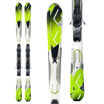 K2 A.M.P. Photon Skis + Marker M3 10.0 Bindings 2013