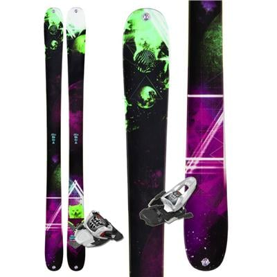 K2 MissDemeanor Skis + Marker 10.0 Free Bindings - Women's 2013