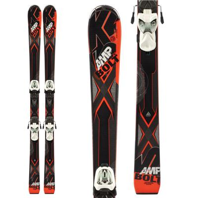 K2 Bolt Jr Skis + Fastrak2 7 Bindings - Boy's 2014