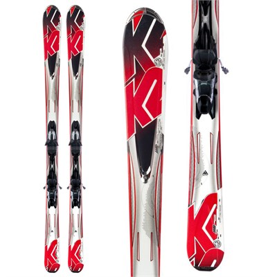 K2 A.M.P. Force Skis + Marker M3 10.0 Bindings 2013