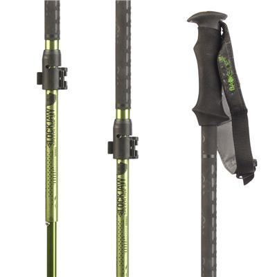K2 LockJaw Carbon Probe/Carbon Adjustable Ski Poles 2014