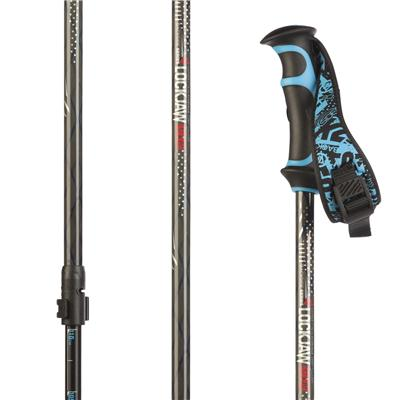 K2 LockJaw Aluminum Probe/Carbon Adjustable Ski Poles 2014