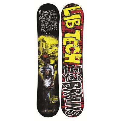 Lib Tech Burtner's Box Scratcher BTX Snowboard 2013