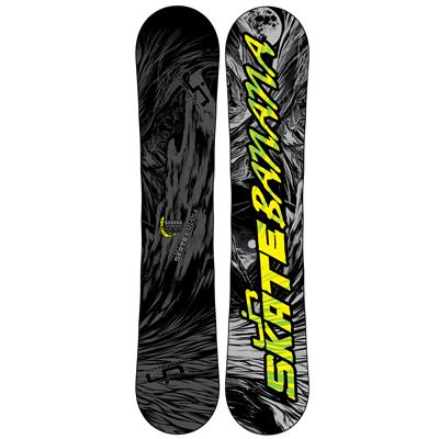Lib Tech Skate Banana BTX (Grey/Black) Narrow Snowboard 2013
