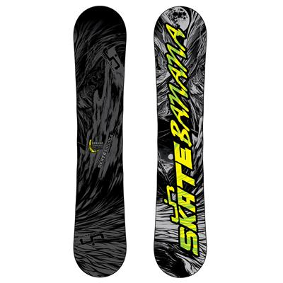 Lib Tech Skate Banana BTX (Grey/Black) Wide Snowboard 2013
