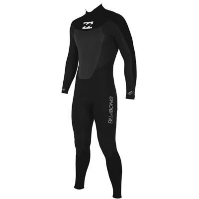 Billabong Foil 5/4/3 LS Back Zip Hooded Wetsuit