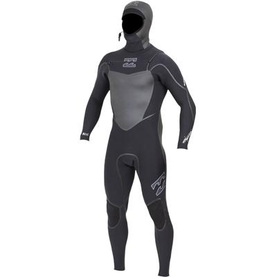 Billabong Solution SG5 6/5/4 Chest Zip Hooded Wetsuit