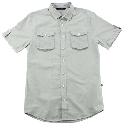 Makia Oxford Short Sleeve Button Down Shirt