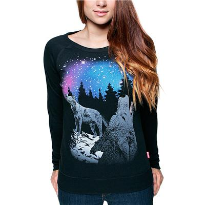 Glamour Kills Take To The Night Crew Sweatshirt - Women's