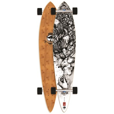 Arbor Pin Bamboo Longboard Complete