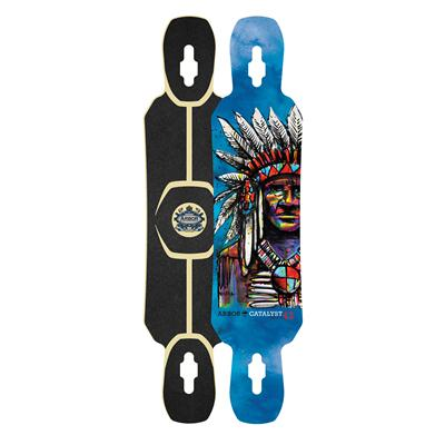 Arbor Catalyst Freeride Longboard Deck