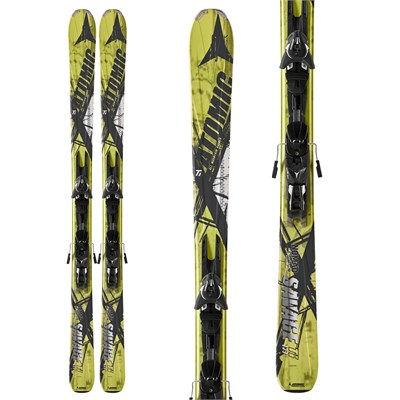 Atomic Savage Ti Skis + XTO 14 Bindings 2013