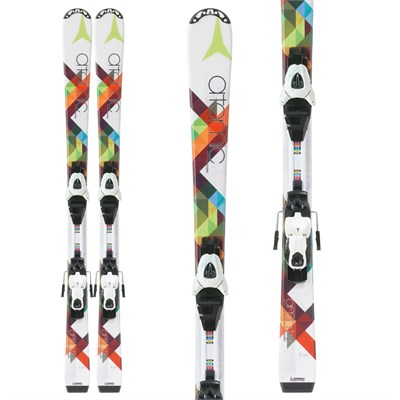 Atomic Affinity Jr. III Skis + XTE 7 Bindings - Youth - Girl's 2013