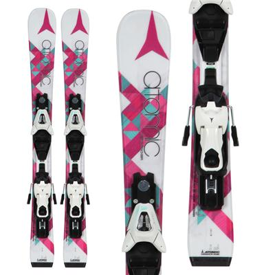 Atomic Affinity Jr. II Skis + XTE 4.5 Bindings - Youth - Girl's 2013