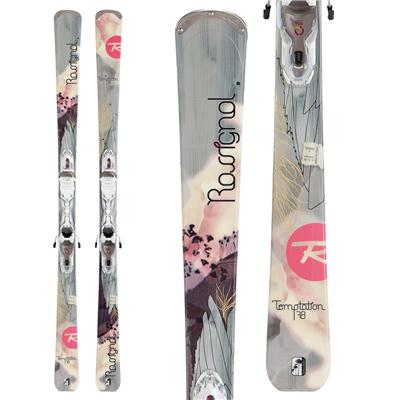 Rossignol Tempation 78 Skis + Xelium Saphir 110 Bindings - Women's 2013