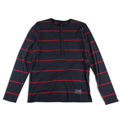 Lifetime Collective Banks Stripe Henley Shirt