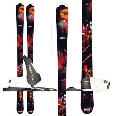 Rossignol Scimitar Jr Skis + Comp Kid 25 Bindings - Youth - Boy's 2013