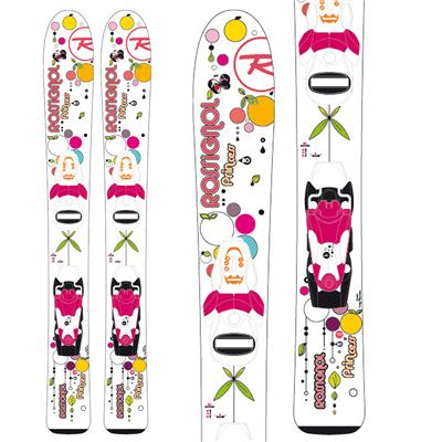 Rossignol Princess Skis + Comp Kid 25 Bindings - Youth - Girl's 2013