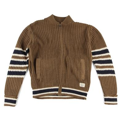 Lifetime Collective Dunham Shaker Zip Sweater