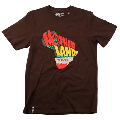 LRG Motherland Map T Shirt