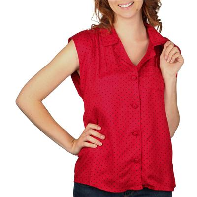 Vans Outie Polka Dot Top - Women's