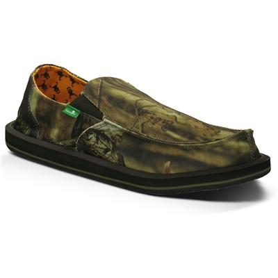 Sanuk Vagabond Mossy Oak Slip On Shoes