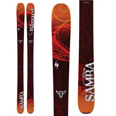 Blizzard Samba Skis - Women's 2013