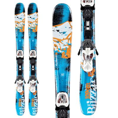 Blizzard Gunsmoke Jr. Skis + IQ 7 Bindings - Youth - Boy's 2013