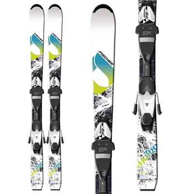 Fischer Watea Jr Skis + FJ4 AC Jr Rail Bindings - Youth - Boy's 2013