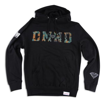 Diamond Supply Co. DMND Camo Pullover Hoodie