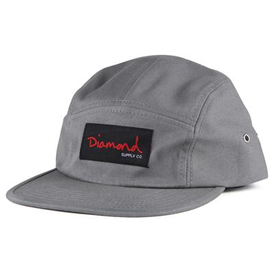 Diamond Supply Co.OG Script 5 Panel Hat