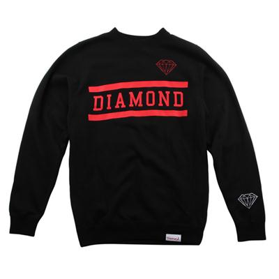 Diamond Supply Co. Collegiate Crew Neck Sweatshirt