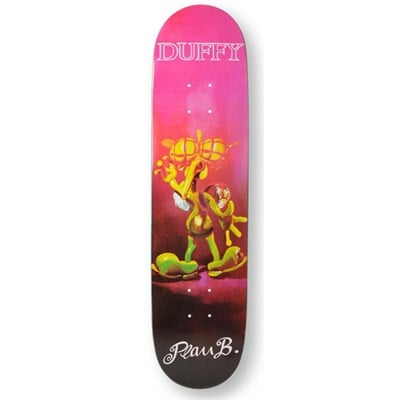 Plan B Duffy Debris Street Skateboard Deck