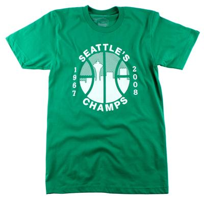 Casual Industrees Seattle's Champs T Shirt