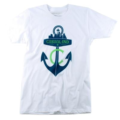 Casual Industrees Anchor T Shirt