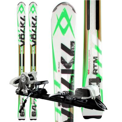 Volkl RTM 84 Skis + iPT Wide Ride 12.0 Bindings 2013