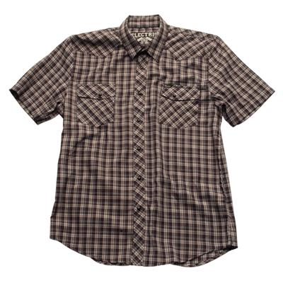 Electric Lonerock Short Sleeve Button Down Shirt