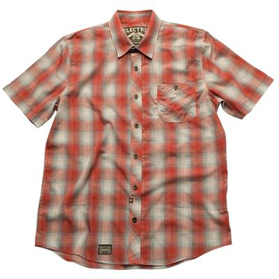 Electric National Short Sleeve Button Down Shirt
