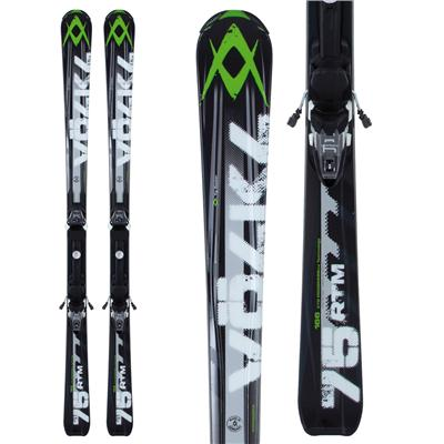 Volkl RTM 75 Skis + 4Motion 10.0 Bindings 2013