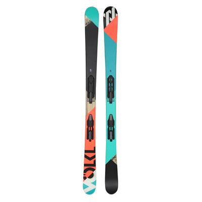 Volkl Kink Jr Skis + M 7.0 Fastrak II Bindings - Youth 2013