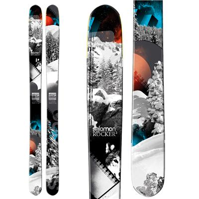 Salomon Rocker2 108 Skis 2013