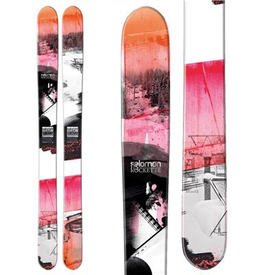 Salomon Rockette 115 Skis - Women's 2013