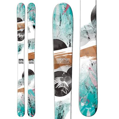 Salomon Geisha 100 Skis - Women's 2013